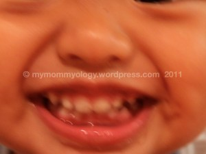 My Mommyology Sam's big smile