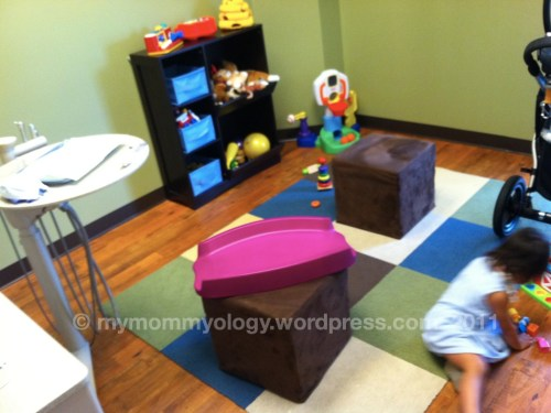 My Mommyology Pediatric Dentist Room