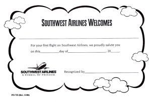 My Mommyology First Flight Certificate