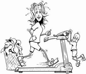 My Mommyology Exercising Mommy
