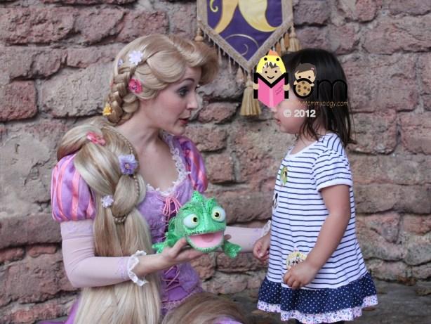 My Mommyology The Princess Rapunzel and Princess Sam