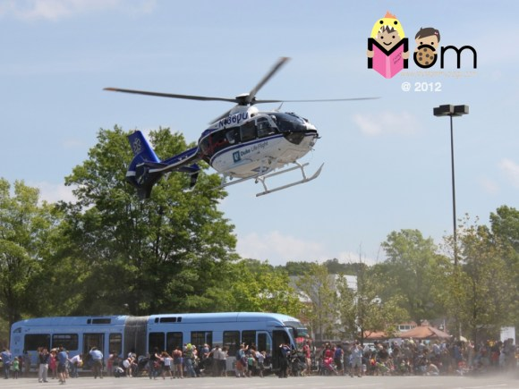 My Mommyology Actual Helicopter Landing