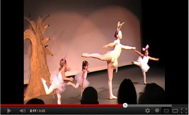 My Mommyology Ballet Performance
