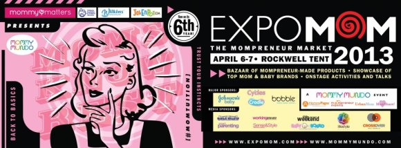 You'll find us at the SoMoms booth! :)
