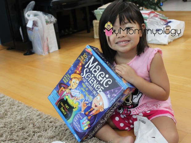 Her very own Magic Box!