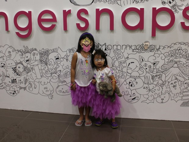 My girls at the photowall wearing pretty much everything Gingersnaps! :)