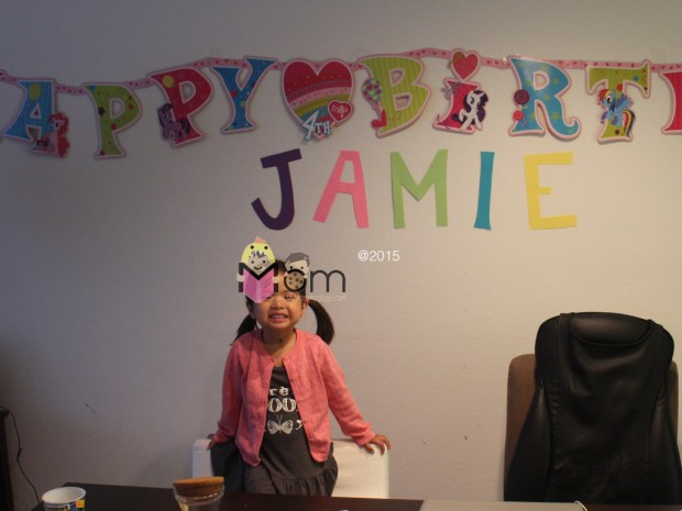 Such a Happy Little Birthday Girl.