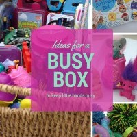 Create a 'busy box'