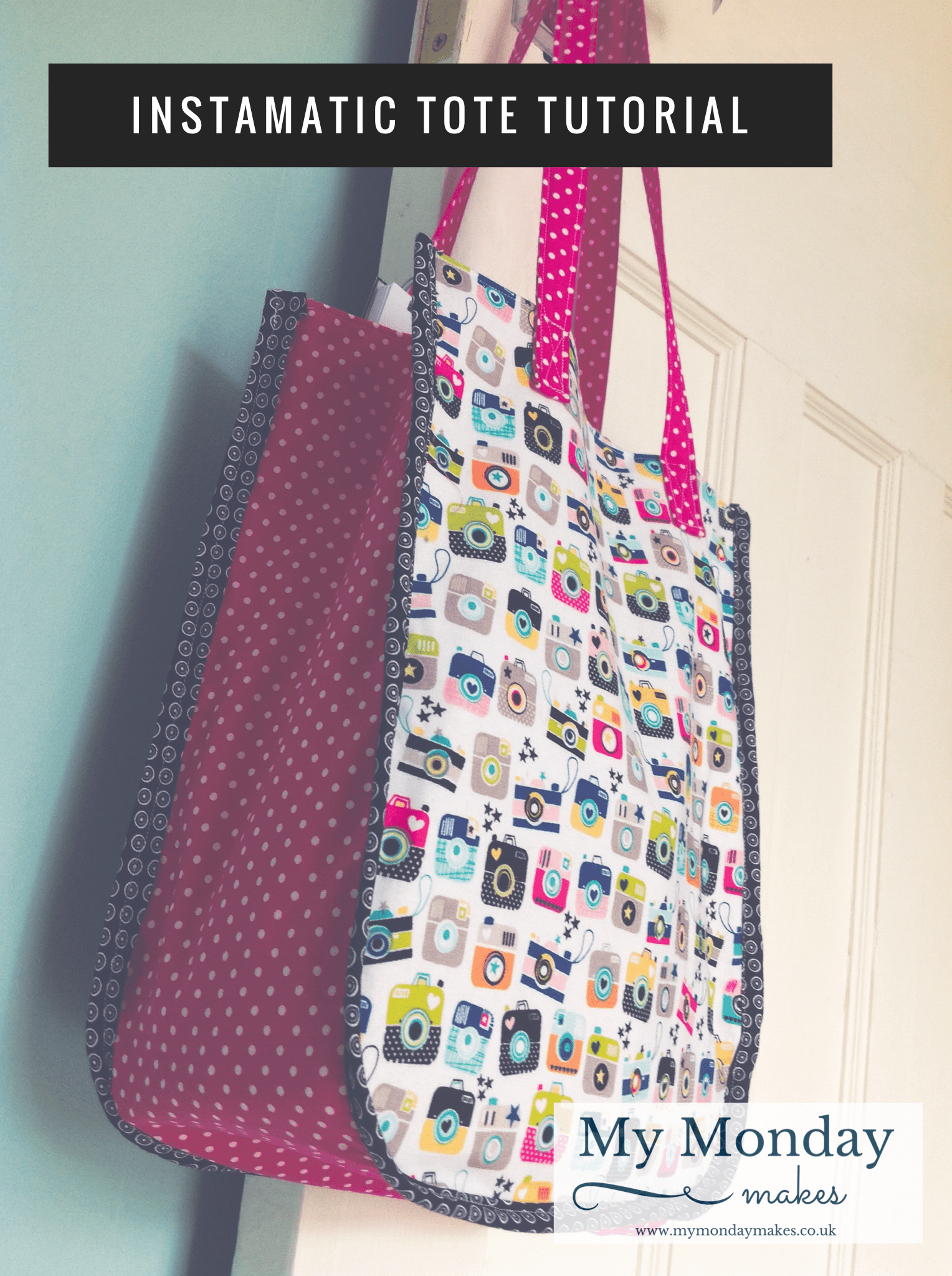 how to make a sewing pattern for a lunch bag