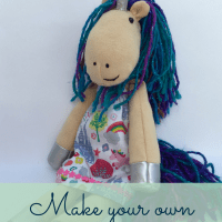 Make a Cuddly Unicorn - Free Tutorial and Pattern