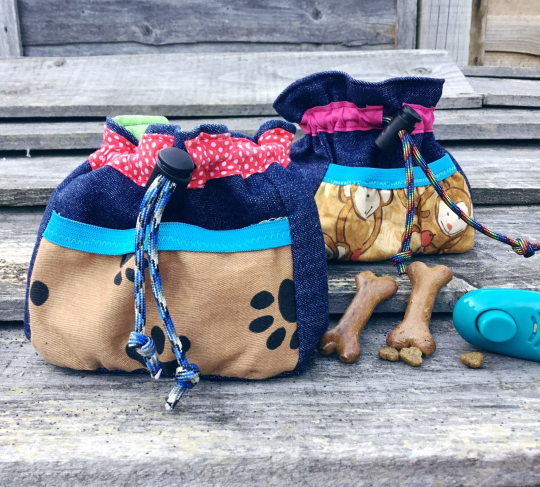 Dog treat bags