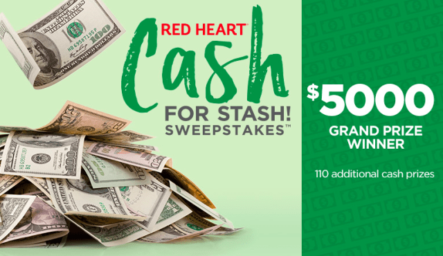 redheart sweepstakes