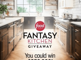 Food Network Fantasy Kitchen Sweepstakes