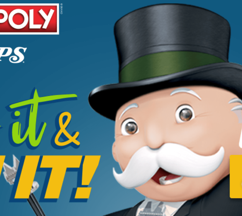 Enter Code Tops Markets Monopoly Sweepstakes!