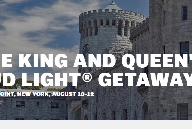 Enter BudLight Summer Getaway Sweepstakes