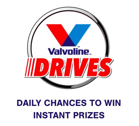 Valvoline Drives Keyword Instant Win Game