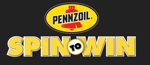 Pennzoil.com/SpinToWin