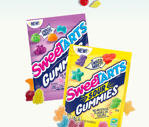 SweeTARTS Candy Next Shape Sweepstakes (Win a Year Supply of Gummies!)