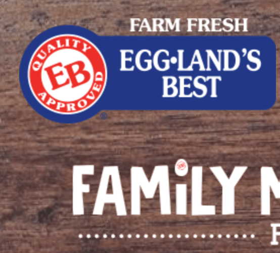 EB Family Meals Pledge $5,000 Sweepstakes (Recommended)