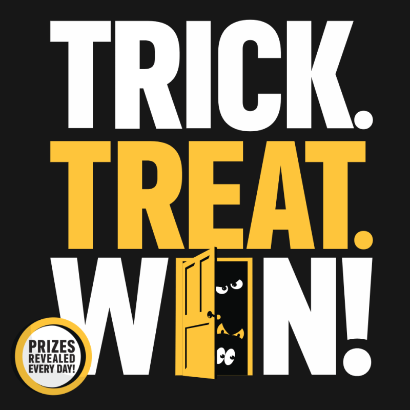 Win $50,000 Cash in TrickTreatWin.com Instant Win Game