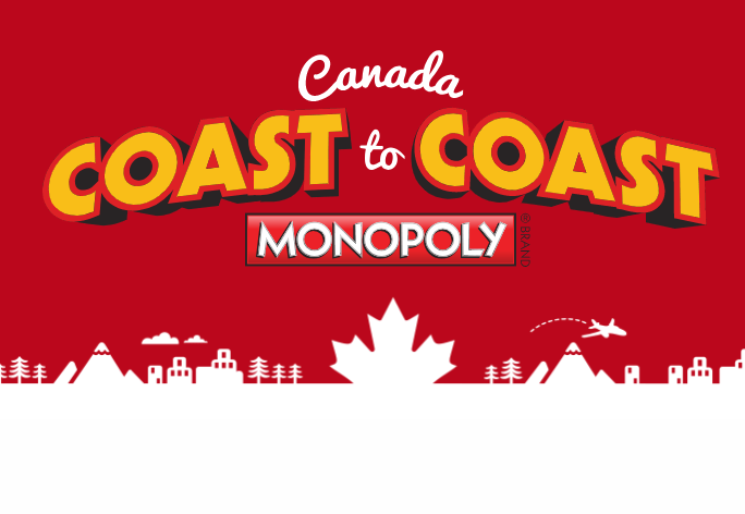 2018 McDonald's Coast to Coast Rare Pieces Monopoly Canada