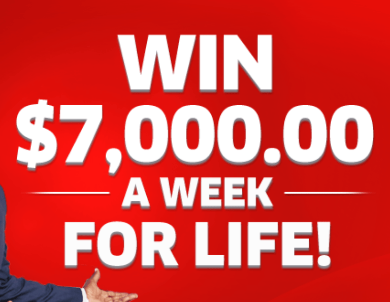 PCH $7,000 a Week For Life Winner Sweepstakes