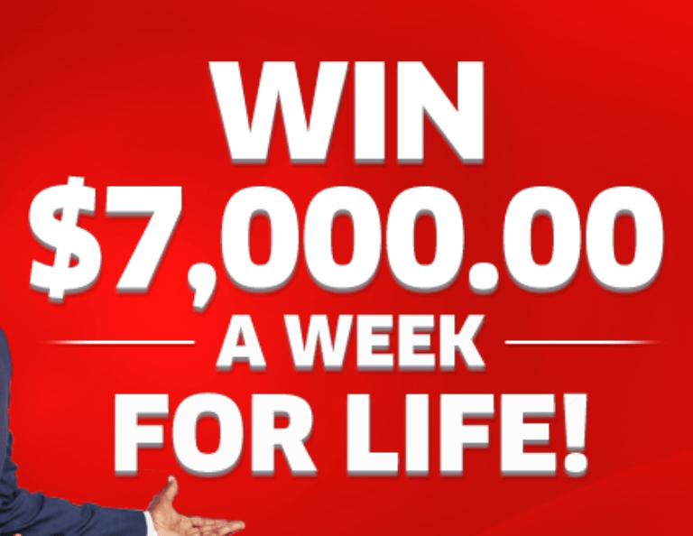 PCH $7,000 a Week For Life Winner Sweepstakes | MyMoneyGoblin