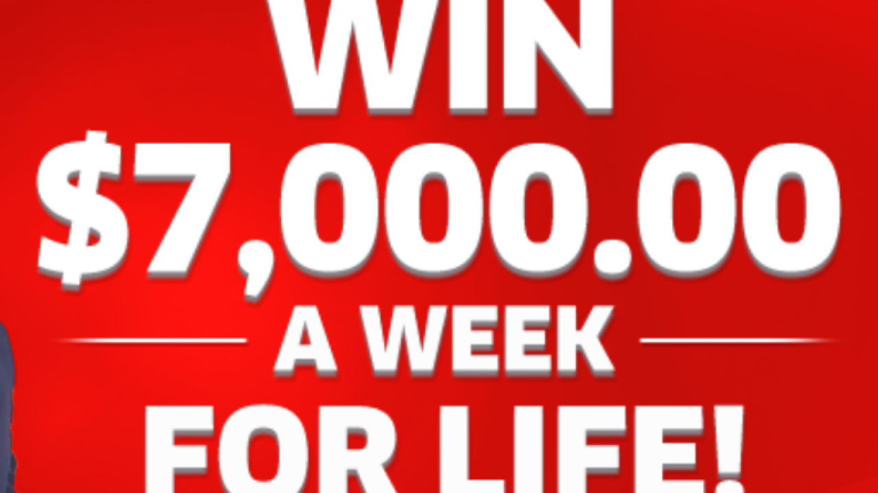 PCH $7,000 a Week For Life Winner Sweepstakes | MyMoneyGoblin