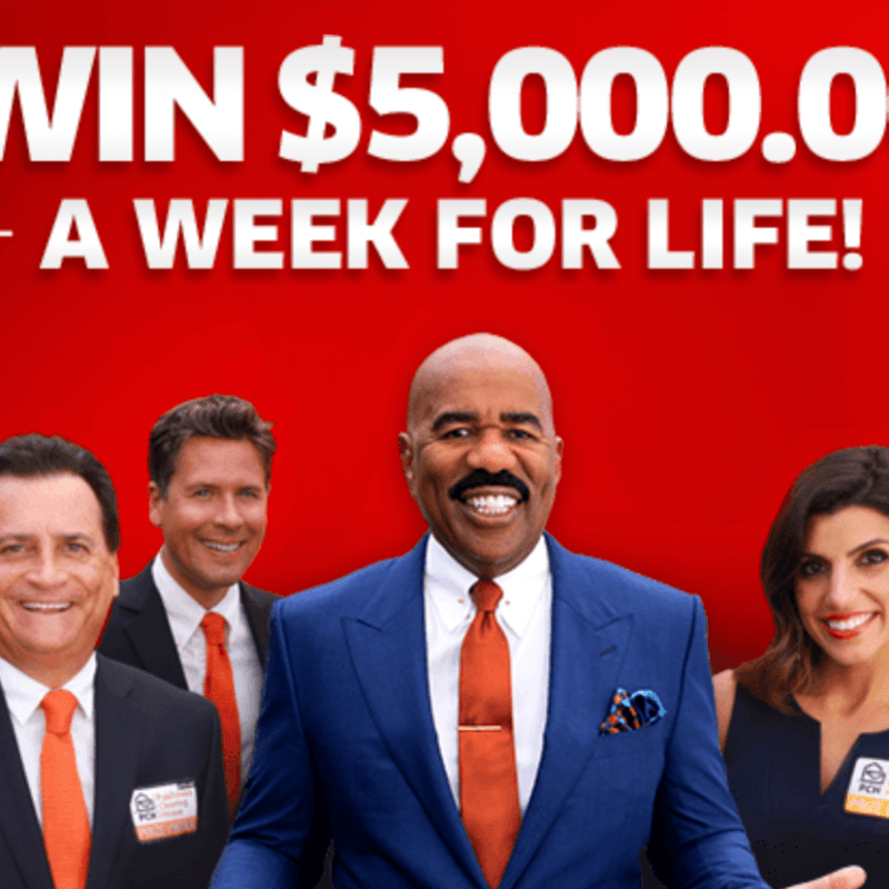 PCH.com $5000 A-Week-For-Life SuperPrize (August 2019)