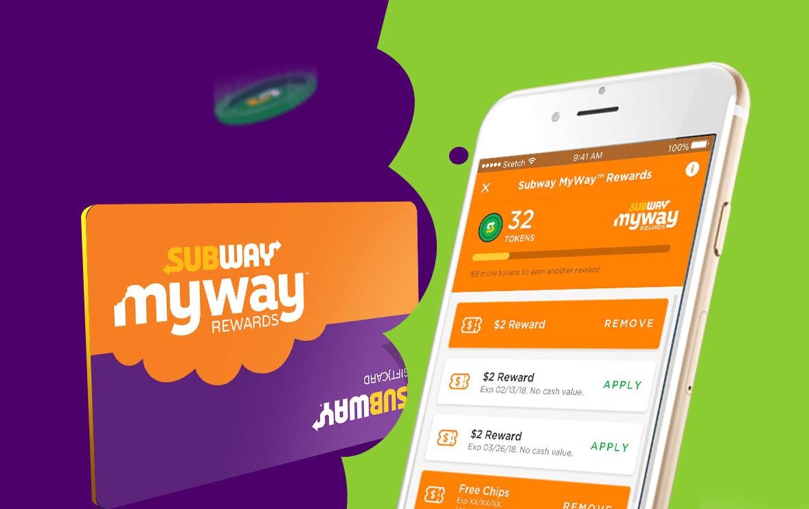 subway mywayrewards