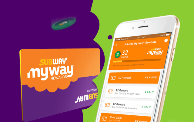 subway mywayrewards