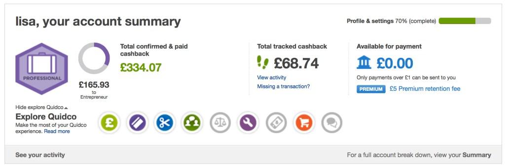 top cash back website Quidco