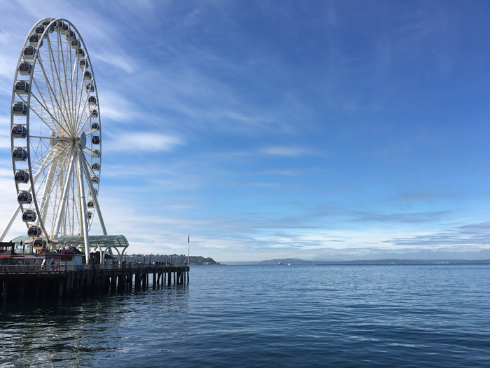 Seattle Pier View