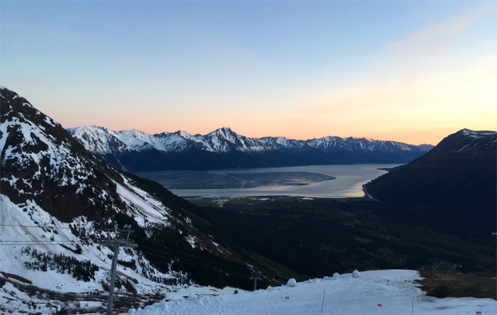 alyeska sunset