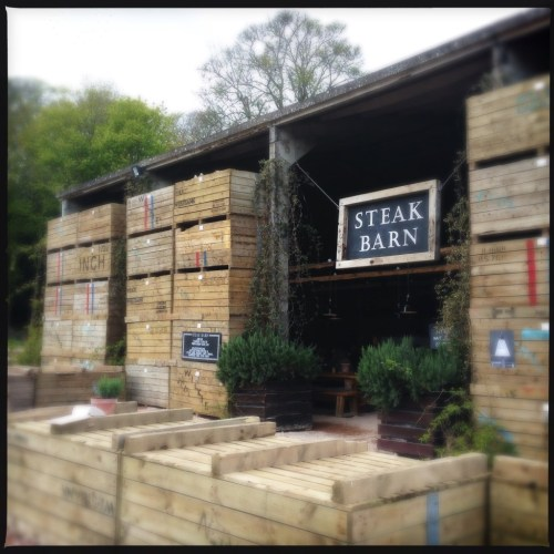 the steak barn, balgove larder