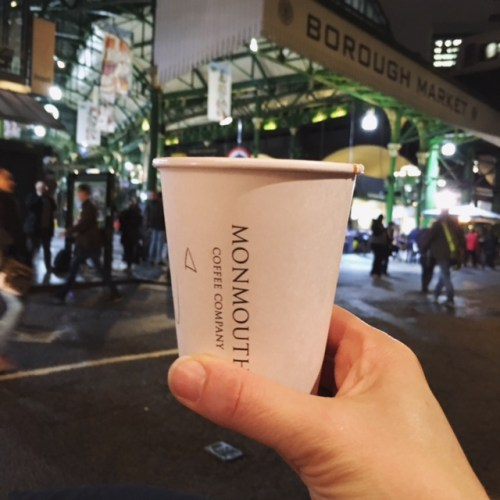 Monmouth coffee, Borough market