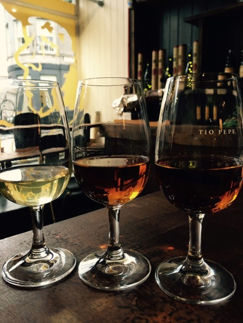 SHERRY TASTING ON WORLD TAPAS DAY