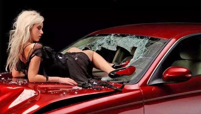 Я разбила нашу машину
