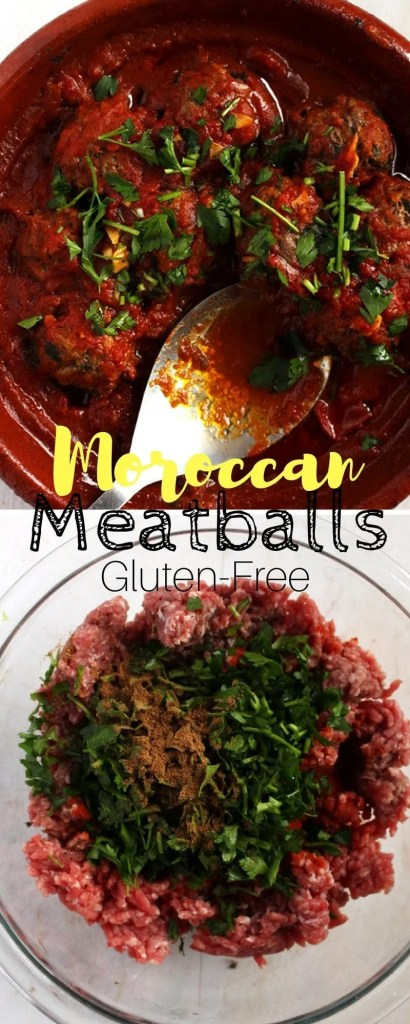 Moroccan Meatballs - Forget what you know about meatballs and make these for dinner. They are soft, moist and did I mention Paleo ? Yes sir, this is meatball satisfaction - Mymoorishplate.com