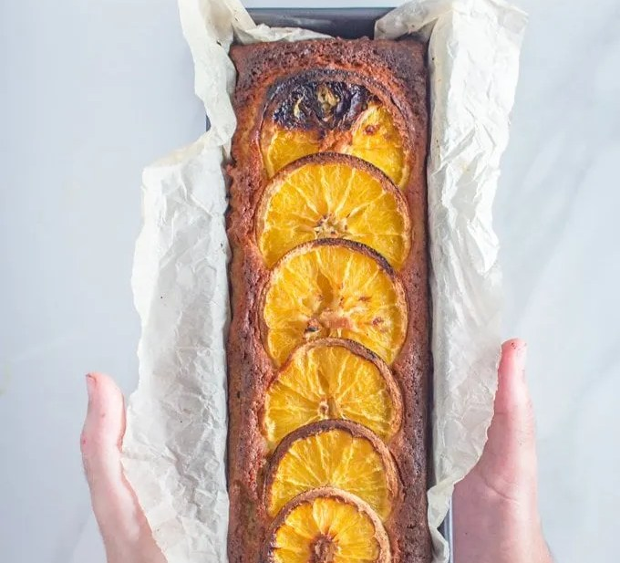 Orange Cardamom Cake | This Loaf Cake is infused with Orange zest & juice and seasoned with cardamom, cinnamon and just a touch of orange blossom water.