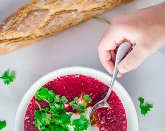 Moroccan-Style Beet Soup