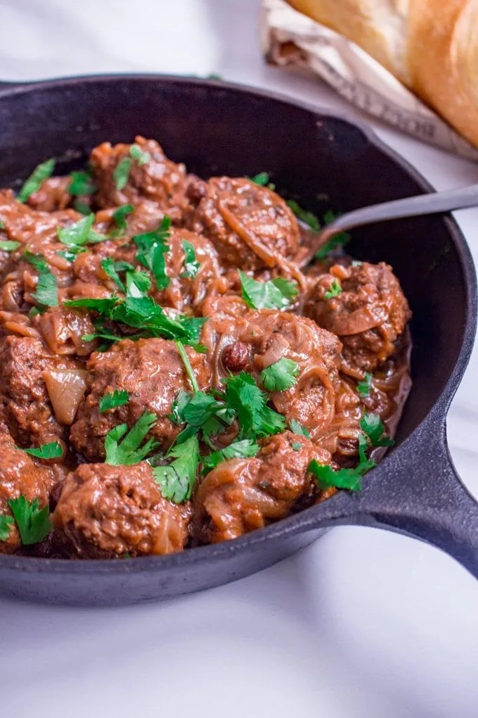 Easy Sweet and Savoury Moroccan-Style Meatballs