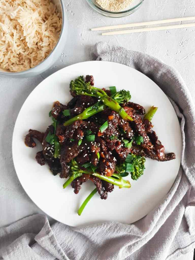 Easy honey and chilli crispy beef recipe