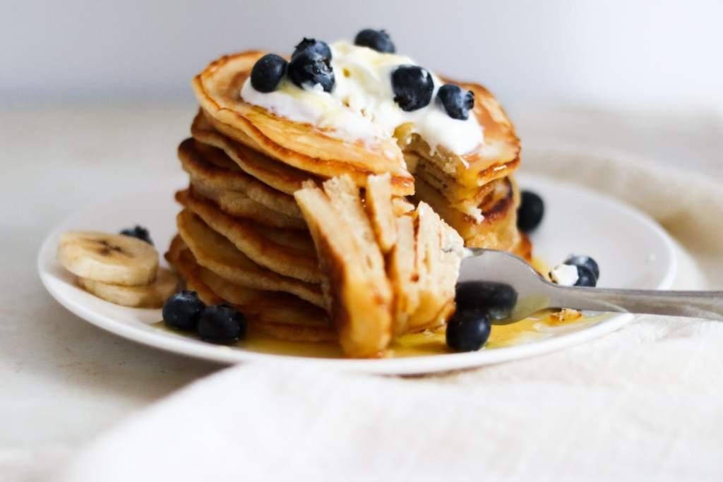 A piece of pancake for pancake day