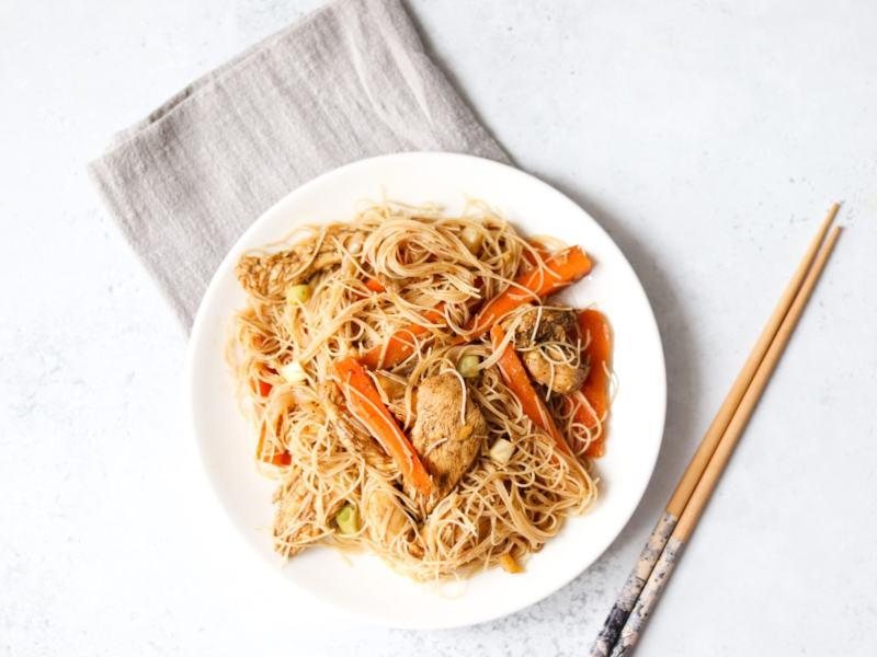 Chicken-vermicelli