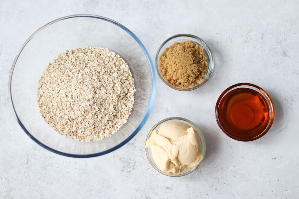Gooey Flapjack Recipe Ingredients