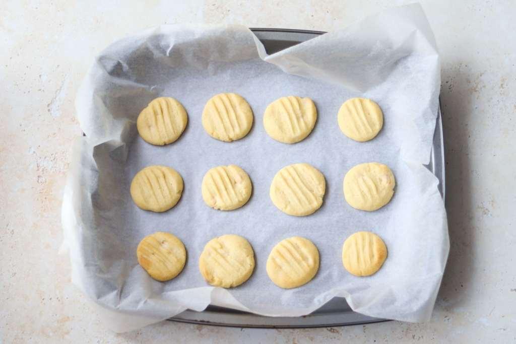 Baked fork biscuits