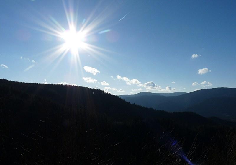 45_Sonnenstern_auf_dem_Wanderweg_vom_Latschigfelsen_zum_Hohen_Schaar