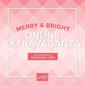 Merry & Bright Online Extravaganza Tomorrow!