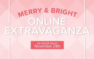 Merry & Bright Online Extravaganza Tomorrow!